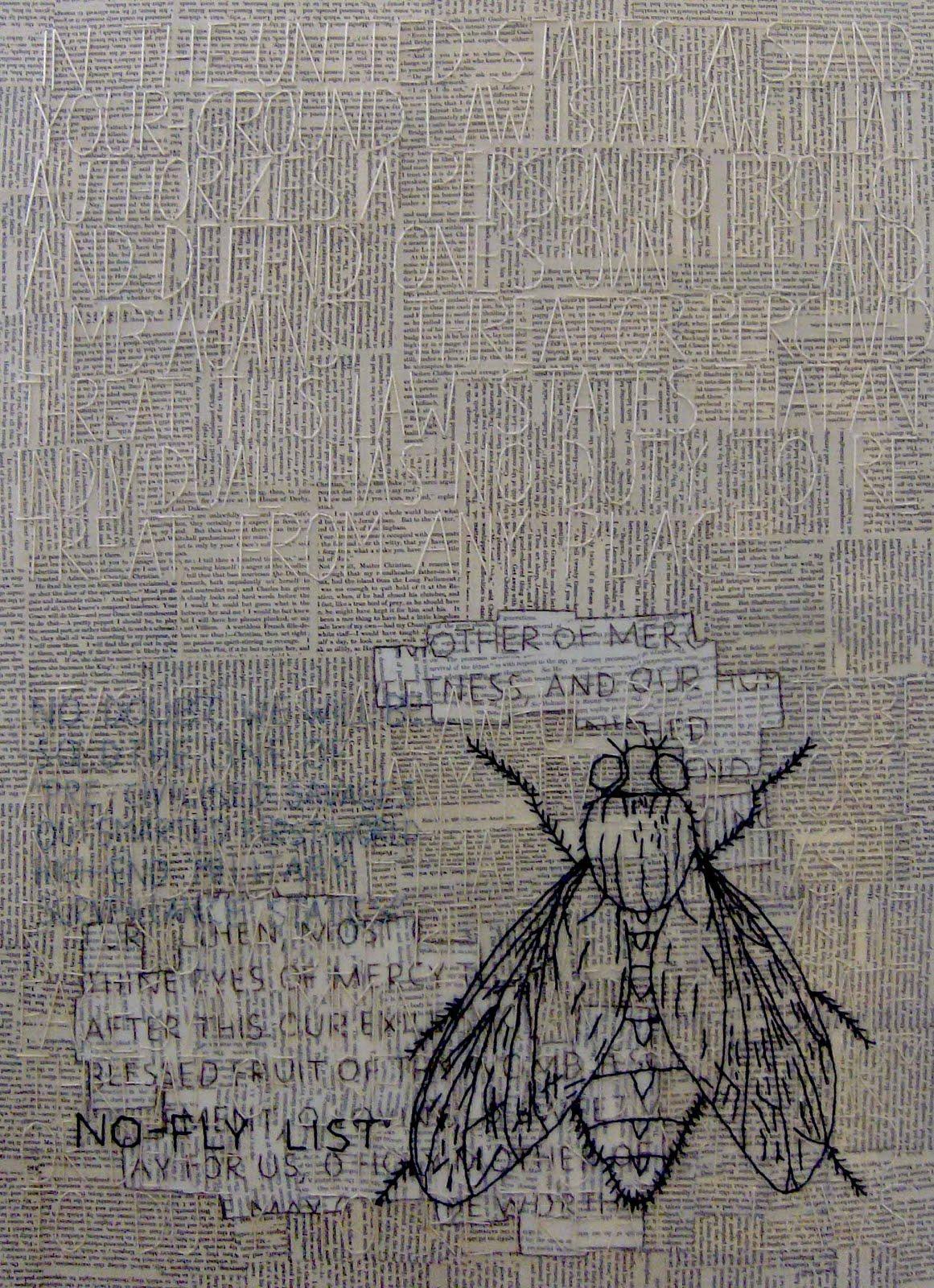 a mosca em paris (70x50cm)