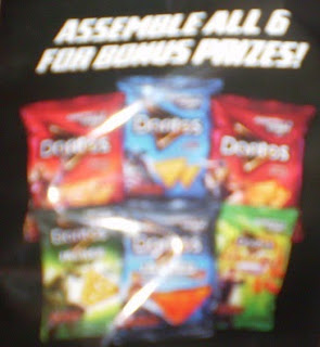 Close up of the Doritos Assemble the Avengers bags
