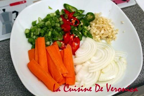 La Cuisine De Veronica 韓國炒魚板 Eomuk Bokkeum