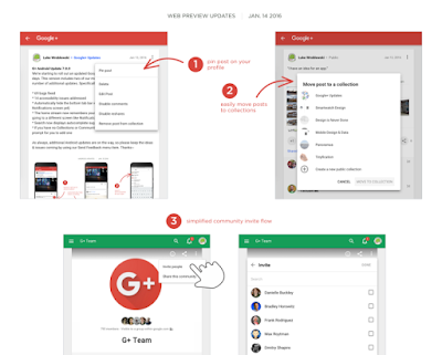 Get Google+ Pin Posts Feature with this Latest Update : Know More & Download APK