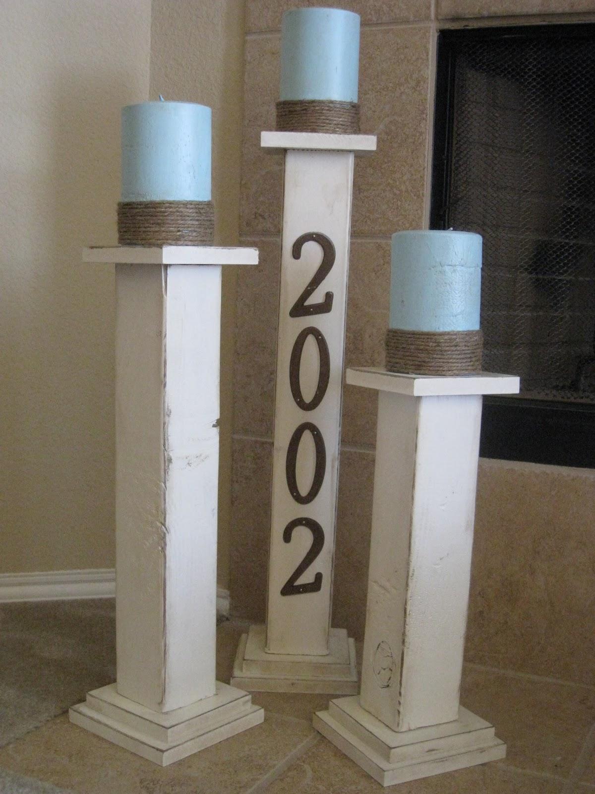 Future Inspiration Decor Diy Pillars