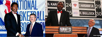 Hakeem Olajuwon surprises David Stern at the 2013 NBA Draft