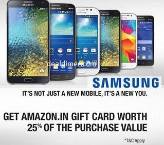 Samsung-mobiles-extra-25-cashback-amazon