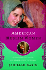 My first book: American Muslim Women: Negotiating Race, Class, and Gender Within the Ummah