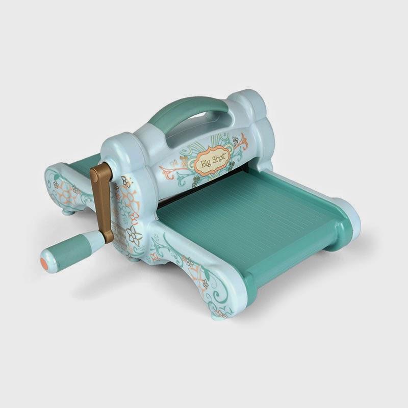 Машинка для вырубки и тиснения Big Shot (Powder Blue and Teal), арт.657900, Sizzix