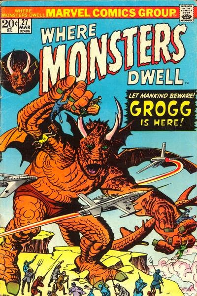Where Monsters Dwell #27, Grogg