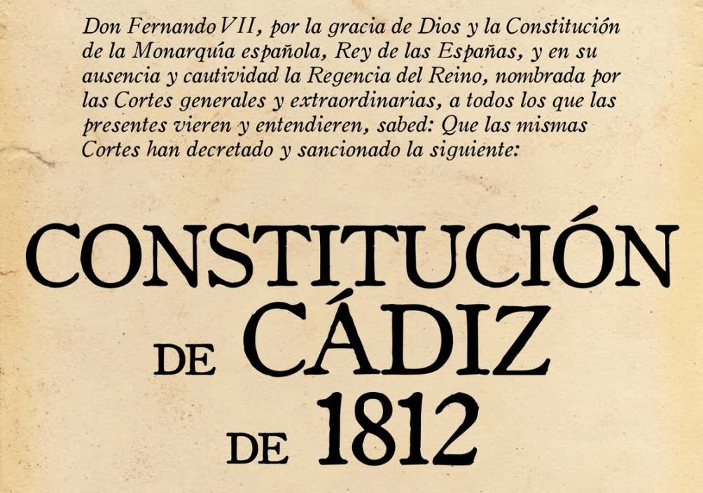 Constitucion de Cadiz y Constituciones españolas
