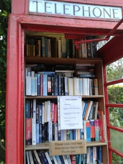 smallest library in Devon