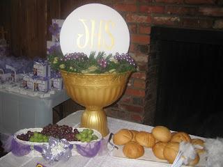 Utopia party decor first communion party decor - Decoration table de communion ...