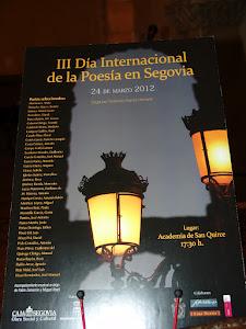 III Día Internacional de la Poesía