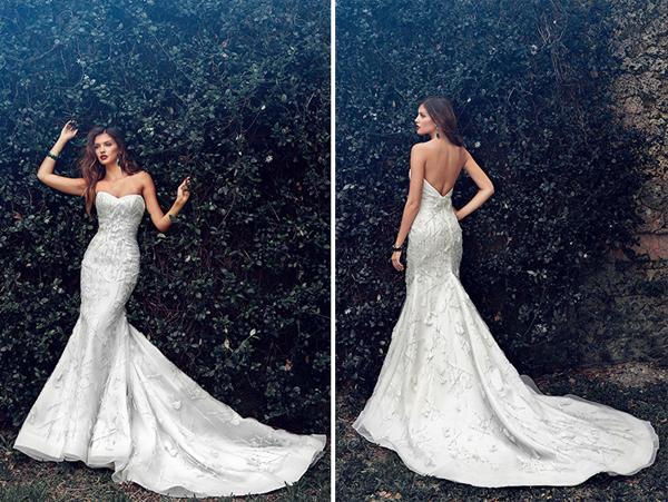 Bellos vestidos de novias | Colección Jorge Manuel