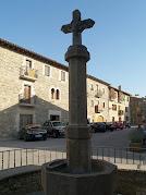 La Creu de Terme i Font de Collsuspina del carrer Major