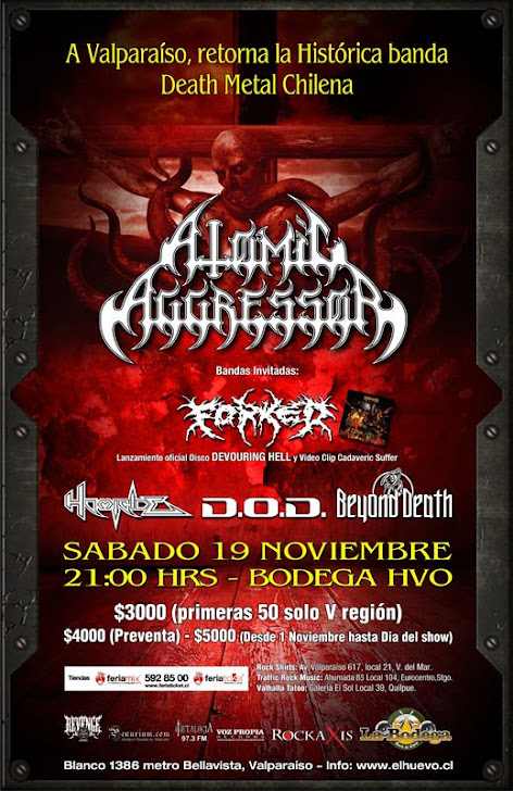 ATOMIC AGGRESSOR EN VALPO,