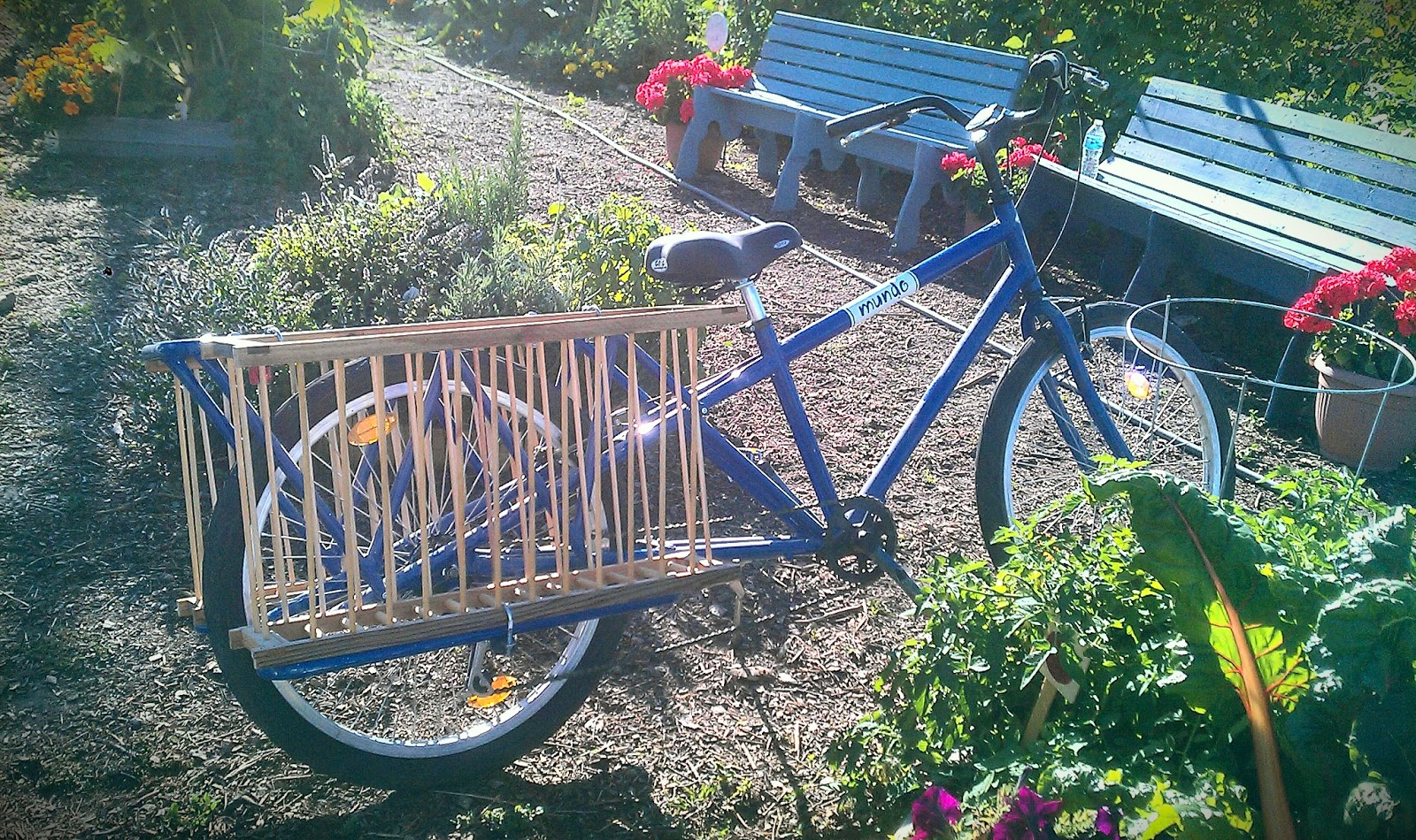 The Garden Patch Acquires A Cargo Bike