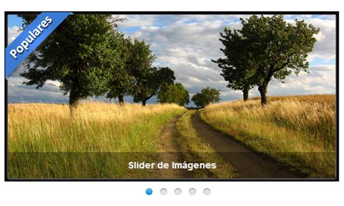Slider de Imágenes con JavaScript