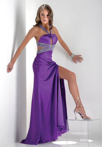 Evening Dresses purple
