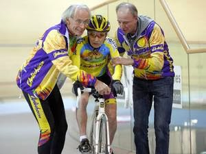 Robert Marchand, 102 cyclist, bike, cycling