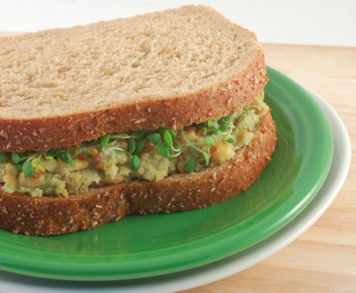 "Mock Tuna Salad"" from The Happy Herbivore website"