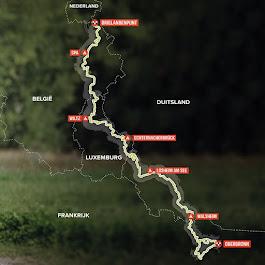 voorlopige route DH 2020