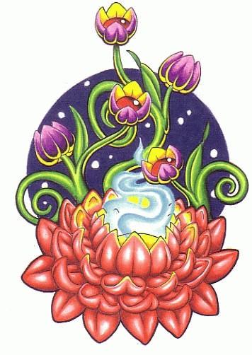 Hoppatossu blogs lotus flower tattoo stencils lotus flower tattoo designs gallery 35 lotus flower tattoo designs gallery mightylinksfo