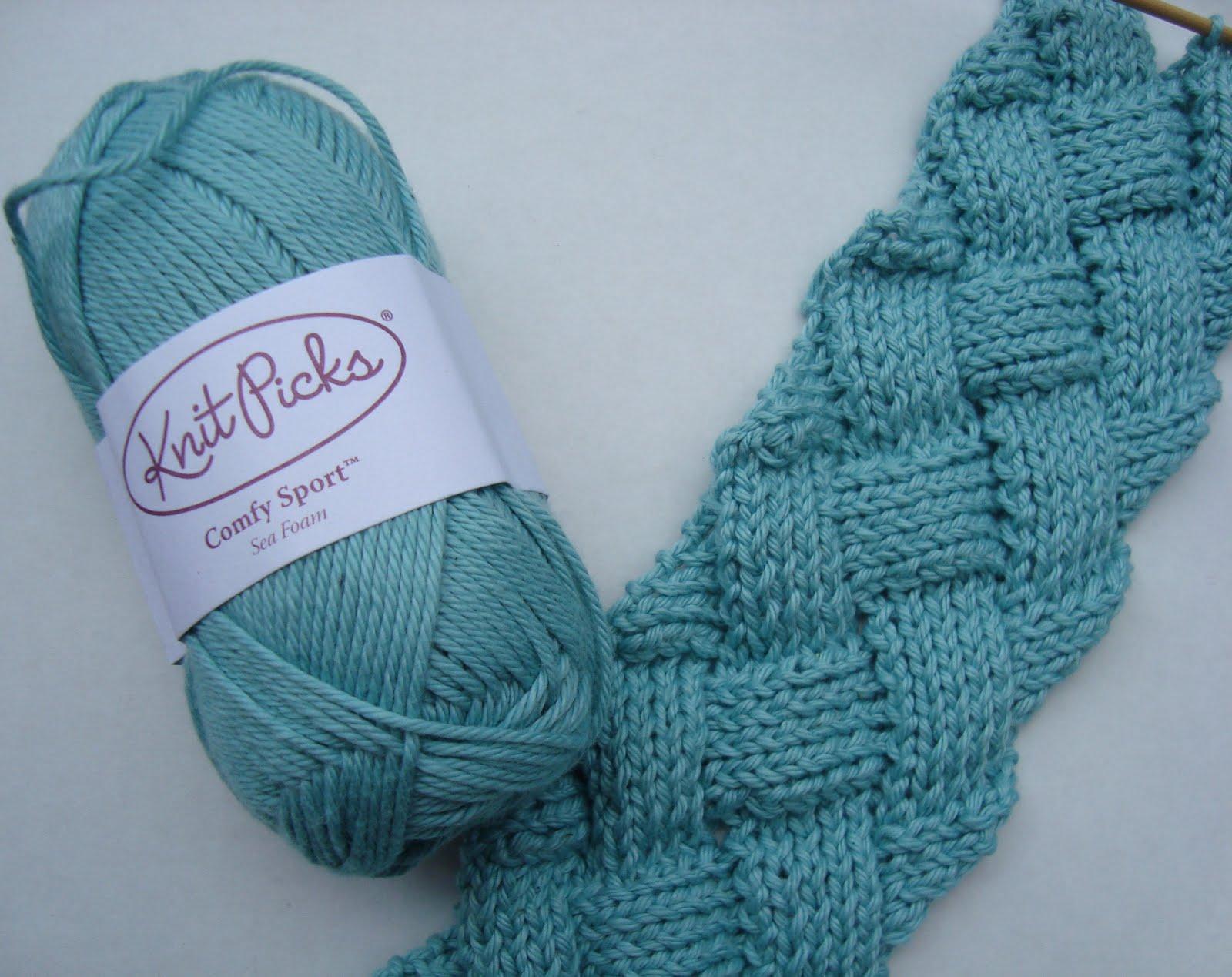 Picking Up Stitches Entrelac Knitting : i K n i t 2 P u r l 2: Something New! Entrelac Knitting!