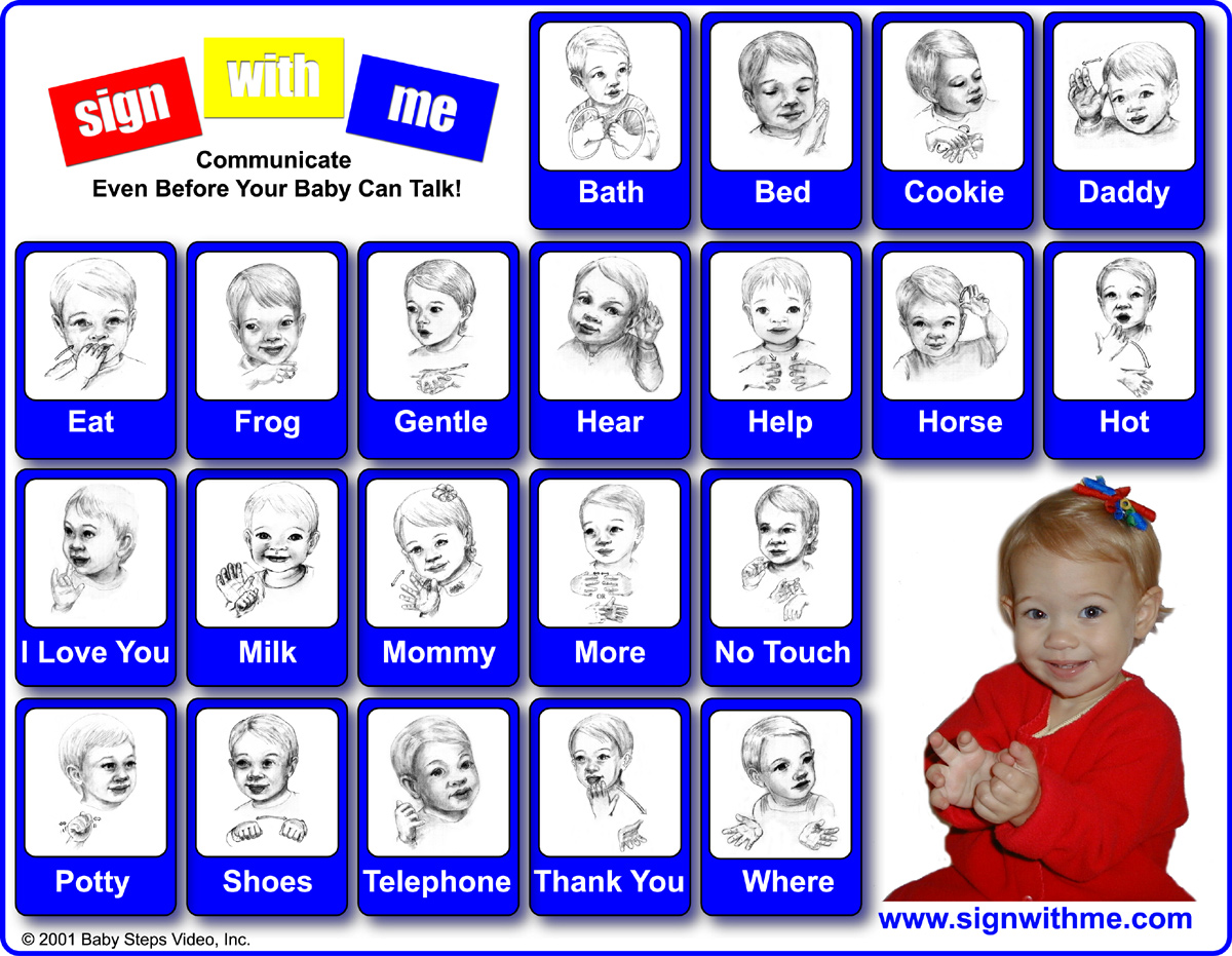 how to say hi mom in sign language