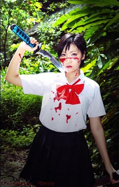 Cosplay Saya Otonashi