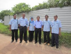 Bersama Pengarah LKIM Johor