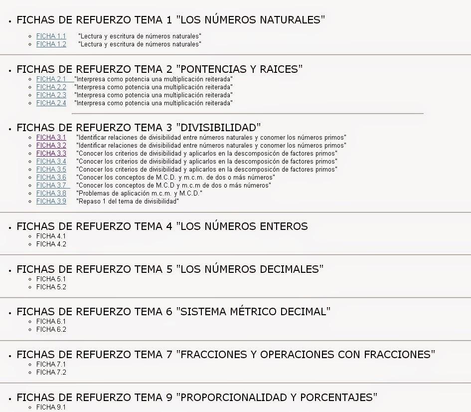 https://sites.google.com/site/mgmmargonzalez/matematicas-1o-eso-1/fichas-refuerzo-1omates