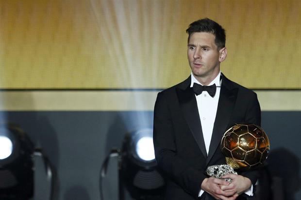 lionel messi balon de oro 2015 - seleccion argentina de futbol