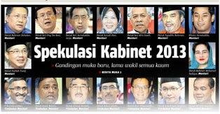 Kabinet Menteri Malaysia 2013