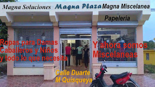 Magna Plaza, Magna Soluciones, Magna Papelería y ahora Magna Miscelánea