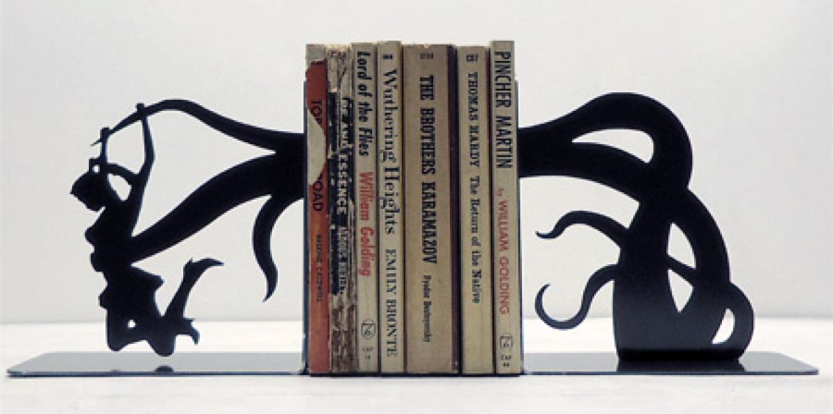 Transpress nz weird and wonderful bookends - Serre livre maison du monde ...