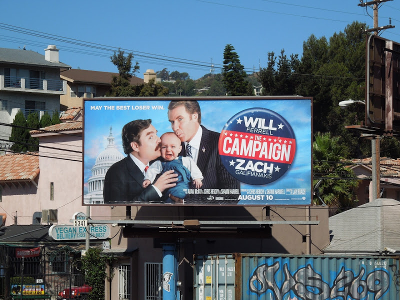 Campaign movie billboard