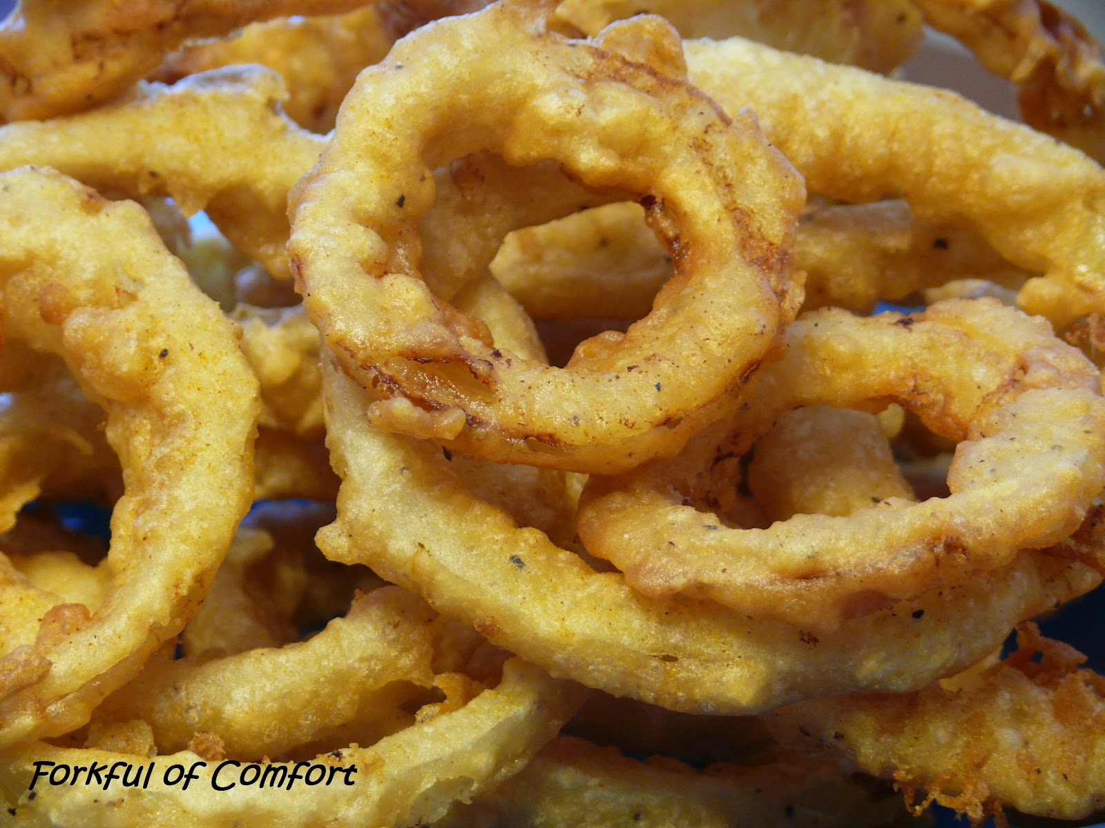 Forkful of Comfort: Beer Battered Onion Rings