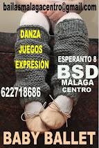 BABY BALLET  CURSO 2019-20 EN BSD MÁLAGA CENTRO.