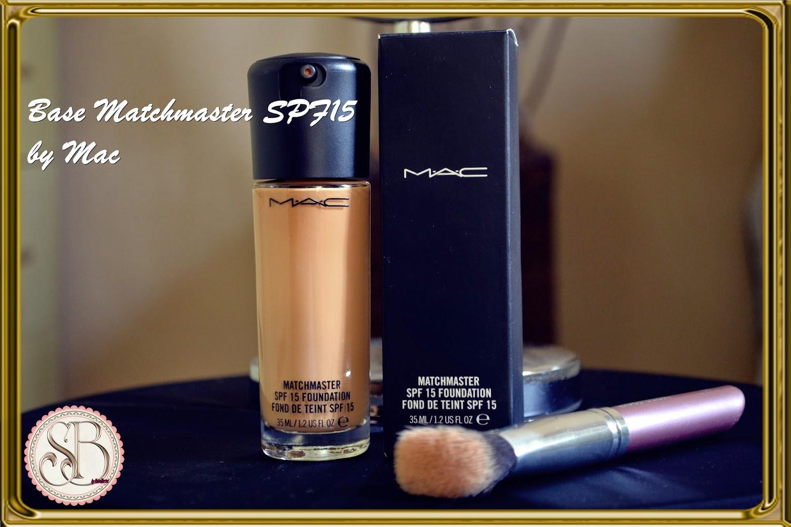 Somando Beleza Base líquida Matchmaster spf15 Mac