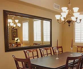 los marcos para tus espejos son muy variados como pan de oro pan de platamadera con cortes en los bordes para dar volumen o simplemente de cristal o