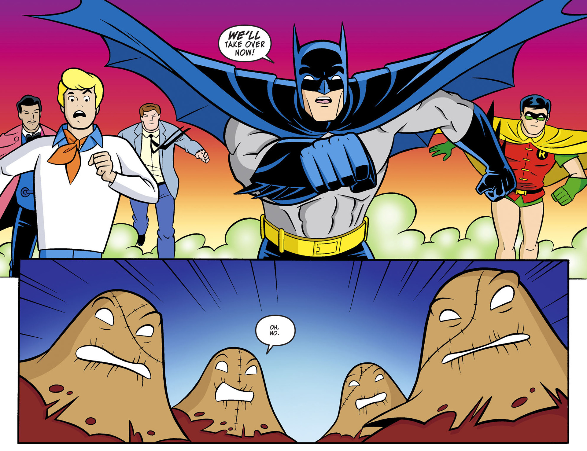 Read online Scooby-Doo! Team-Up comic -  Issue #4 - 17