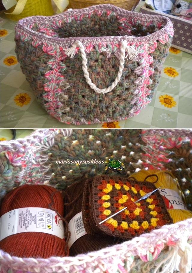 Ideas para hacer bolsos y monederos de ganchillo - Reciclar restos de lana ...