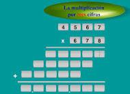 Multiplicación 3 cifras