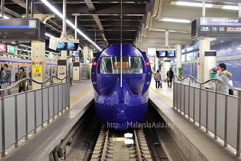Nankai Airport Line Train to Osaka