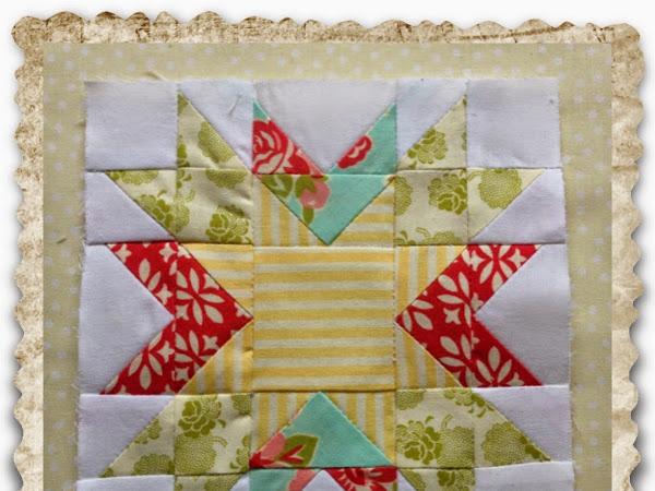Chatelaine- Free BOW Sampler Quilt Block 22