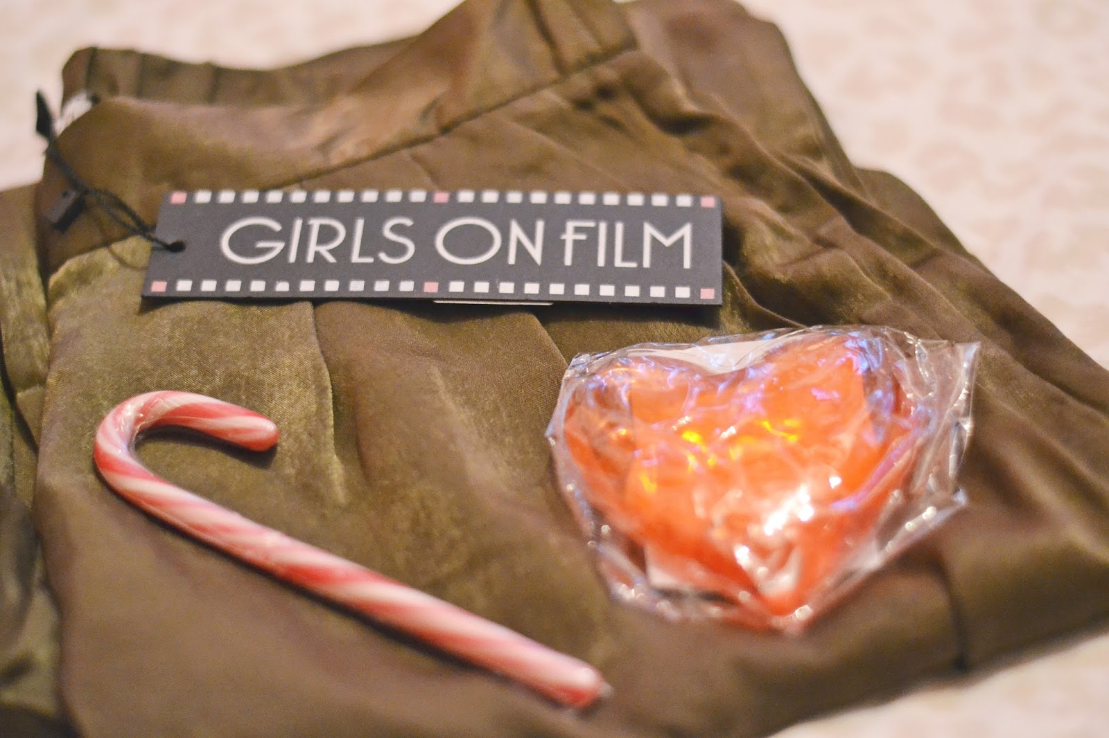 girls on film winter warmer goody bag