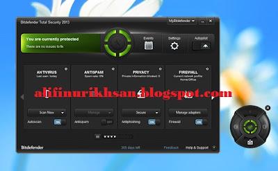 Antivirus Terbaik Bitdefender Total Security 2013 32bit Serial Crack