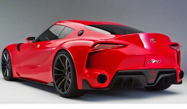 2016 Toyota Supra Rear View