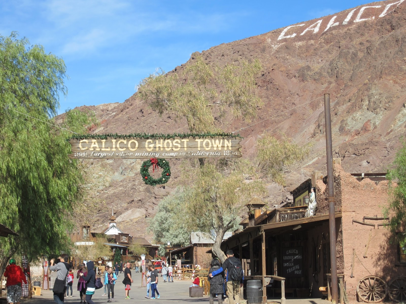 Dustinations: Calico Ghost Town, Thanksgiving Weekend 2012