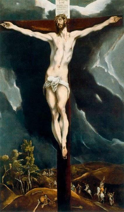 """Résultat de recherche d'images pour """"cristo penitencia crucificado pittura"""""""