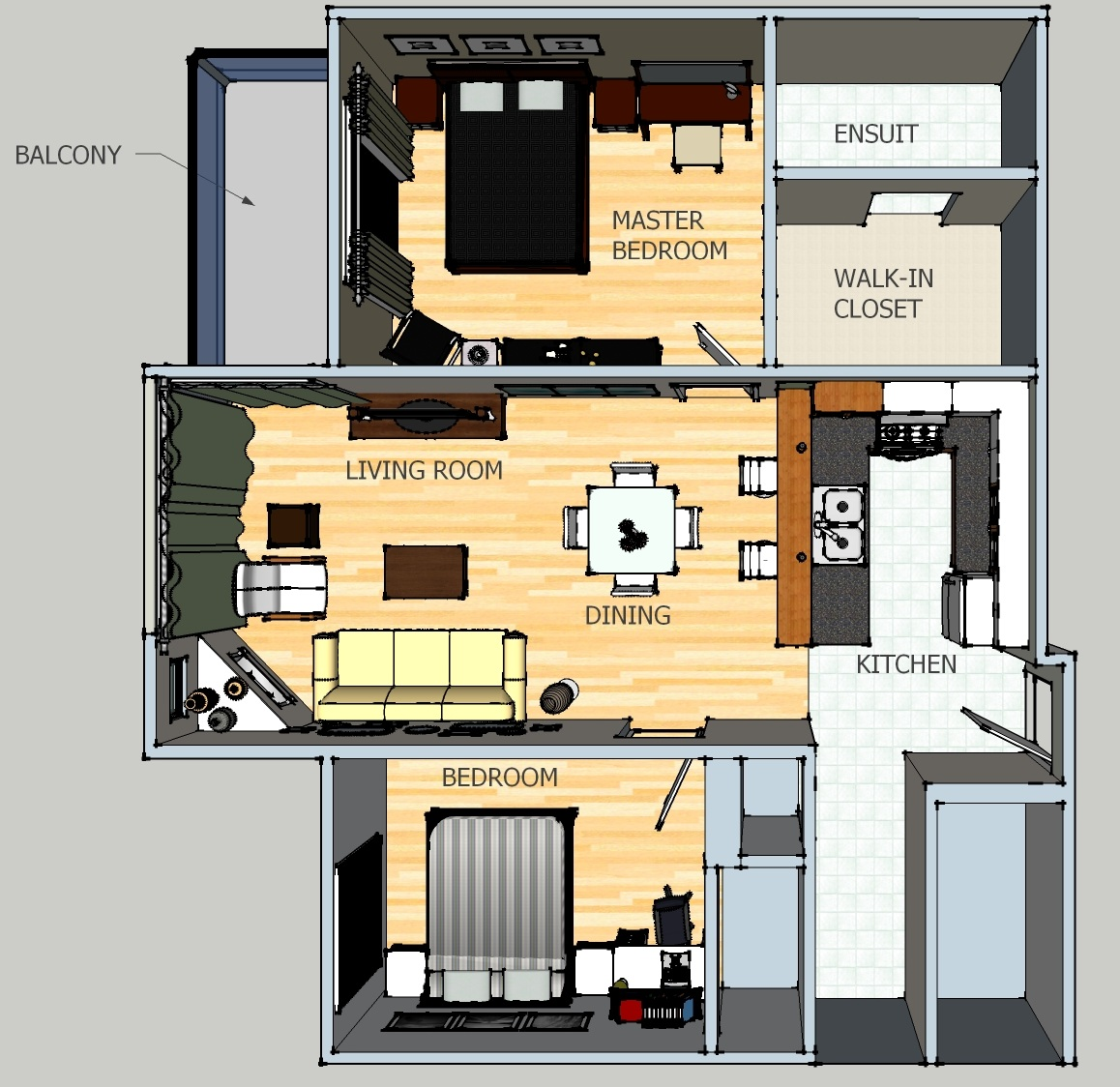 Thoughts and Ideas of a Design Student: Apartment Furniture Plan