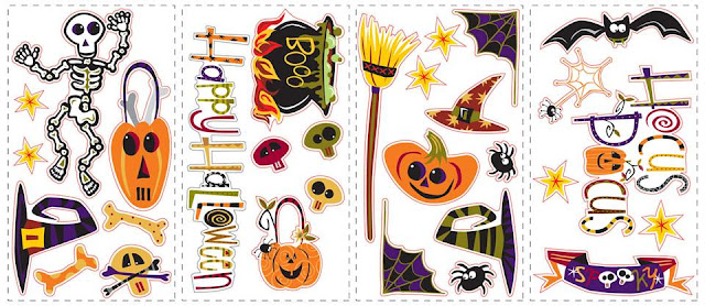 roo PJ2003SCS L Halloween Glass Blocks with Lights